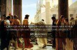 «Celui qui m'aura renié devant les hommes, moi aussi je le renierai devant mon Père qui est dans les cieux» (NS Jésus-Christ)