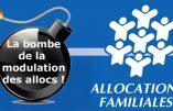 Les familles traditionnelles sont discriminées par les allocations familiales au profit du Grand remplacement