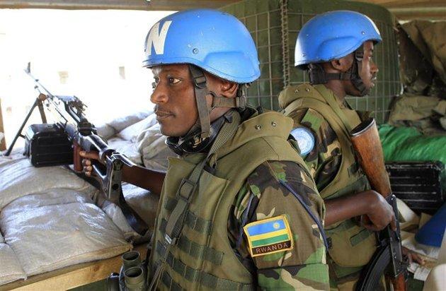 soldats Rwanda-centrafrique
