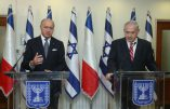Israel Prime Minister Benjamin Netanyahu (R) and Foreign Minister of France, Laurent Fabius, give brief statements to the press at the Prime Minister's office in Jerusalem, Israel, August 25, 2013. Photo Marc Israel Sellem/Pool/Flash90 *** Local Caption *** ?????? ?????? ?? ???? ?????? ???? ????? ??????