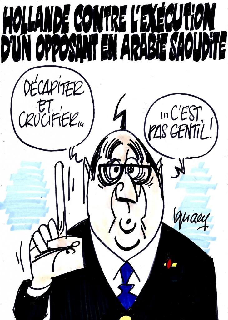 Ignace - Hollande contre une exécution en Arabie Saoudite