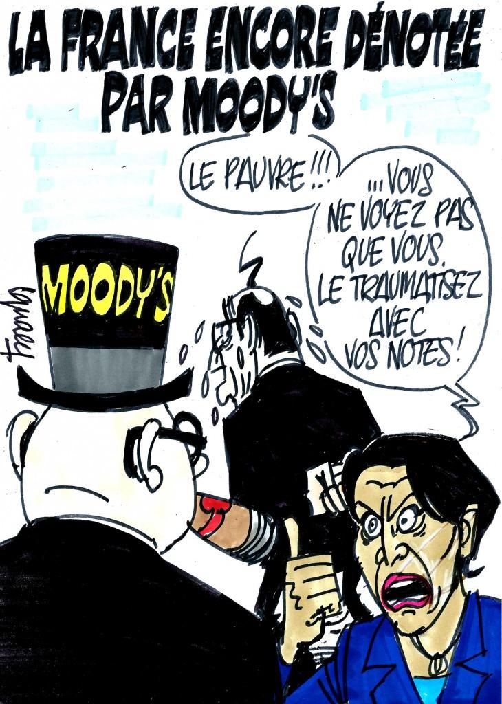 Ignace - Moody's dénote la France