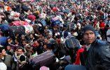 Pour les migrants presque 10 milliards d'euros en trois ans