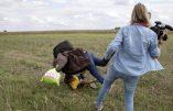 Le terroriste islamiste, faux «réfugié», avait ému la planète, victime du croc-en-jambe d'une journaliste hongroise… La vidéo l'a trahi