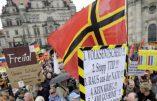 Pegida ne faiblit pas à Dresde. Grand rassemblement hebdomadaire contre l'immigration clandestine musulmane
