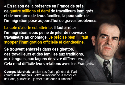 citation georges marchais