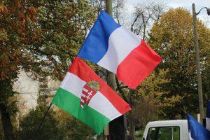 Drapeaux Hongrie France