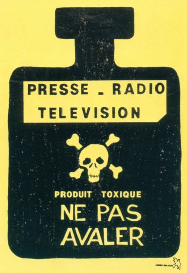 Presse Radio Television Produit toxique ne pas avaler