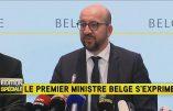 «Les terroristes menacent les centres commerciaux et les transports publics», annonce le Premier ministre belge