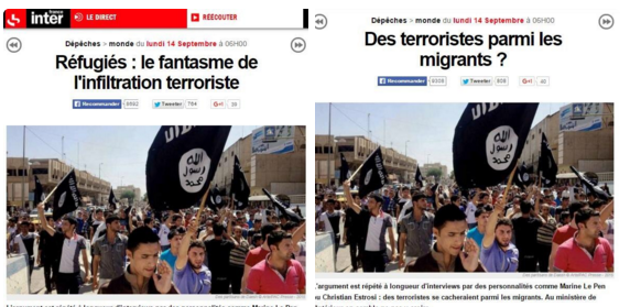 france inter migrants terroristes