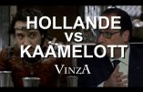 Hollande vs Kaamelott (humour)