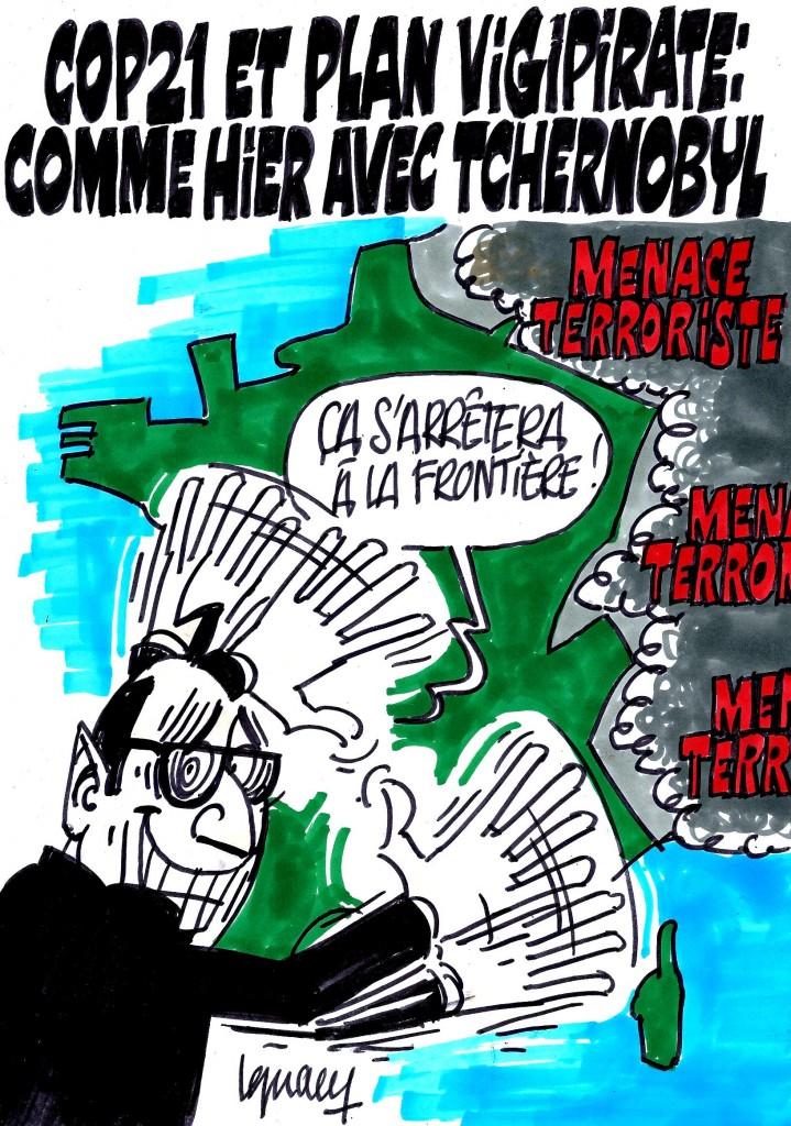 Ignace - COP21 protégée du terrorime