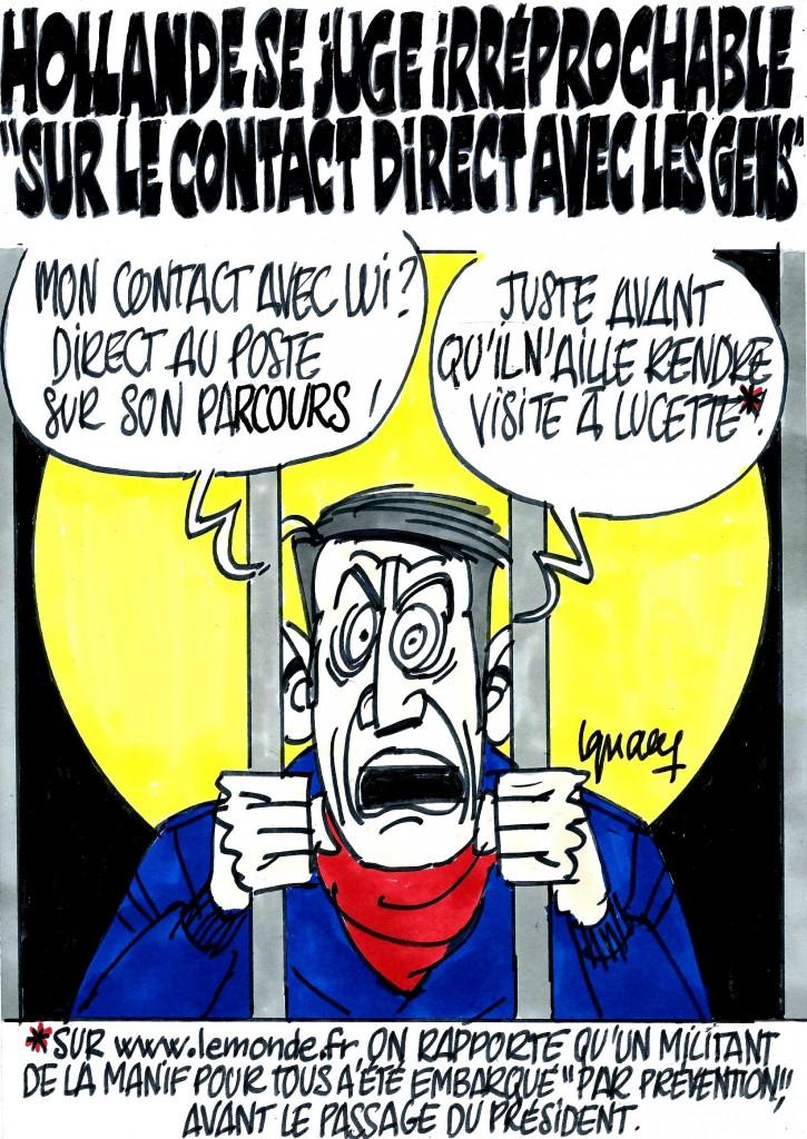 Ignace - Hollande et son contact avec les gens