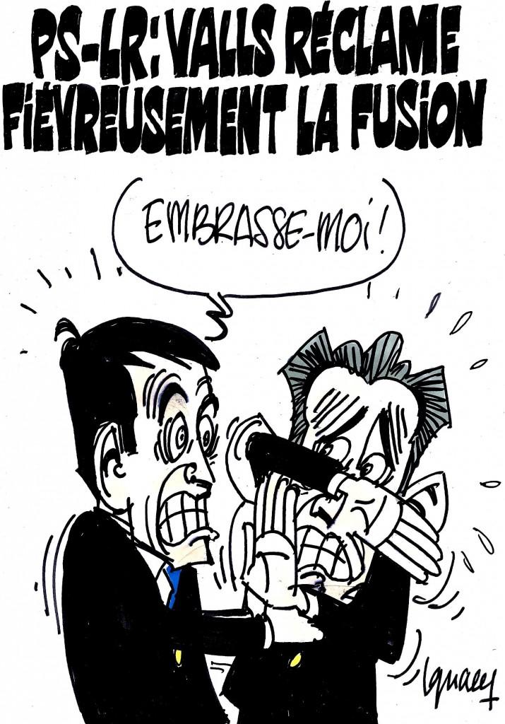 Ignace - Valls veut la fusion