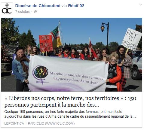 marche mondiale des femmes