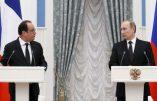 «la France fait partie de l'OTAN comme la Turquie», Face à la presse Poutine ne mâche pas ses mots