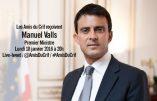 Manuel Valls tiendra une conférence pour le CRIF le 18 janvier