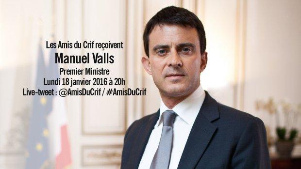 Manuel Valls Amis du CRIF