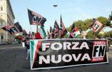 Italie – Les opinions nationales et identitaires sont un crime