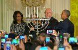 La Maison Blanche a fêté Hanouccah avec le président israélien