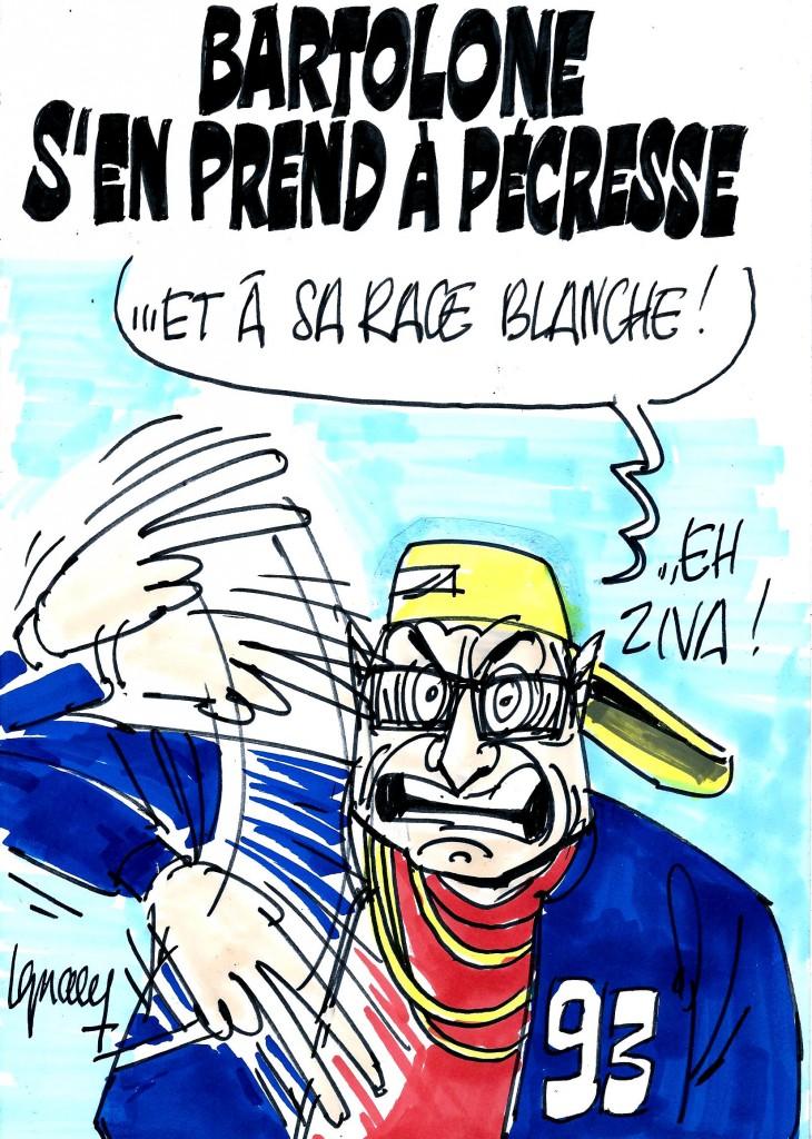Ignace - Bartolone s'en prend à Pécresse