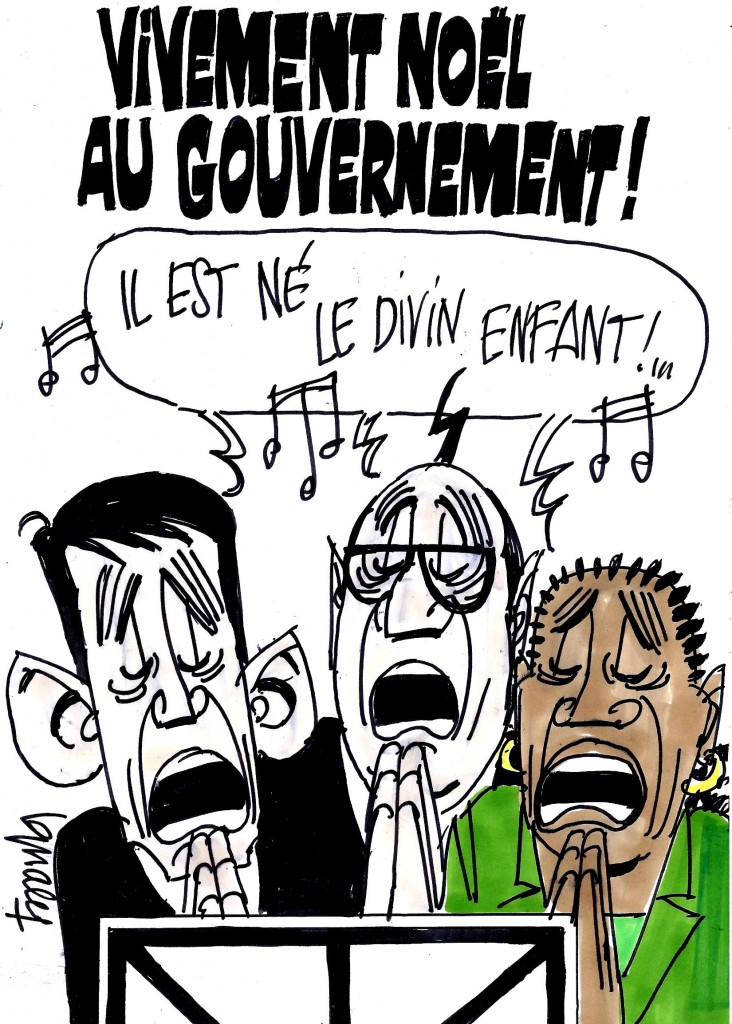 Ignace - Vivement Noël au gouvernement !