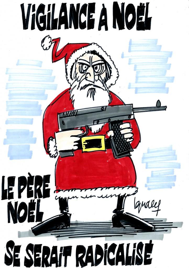 Ignace - Plan vigipirate pour Noël