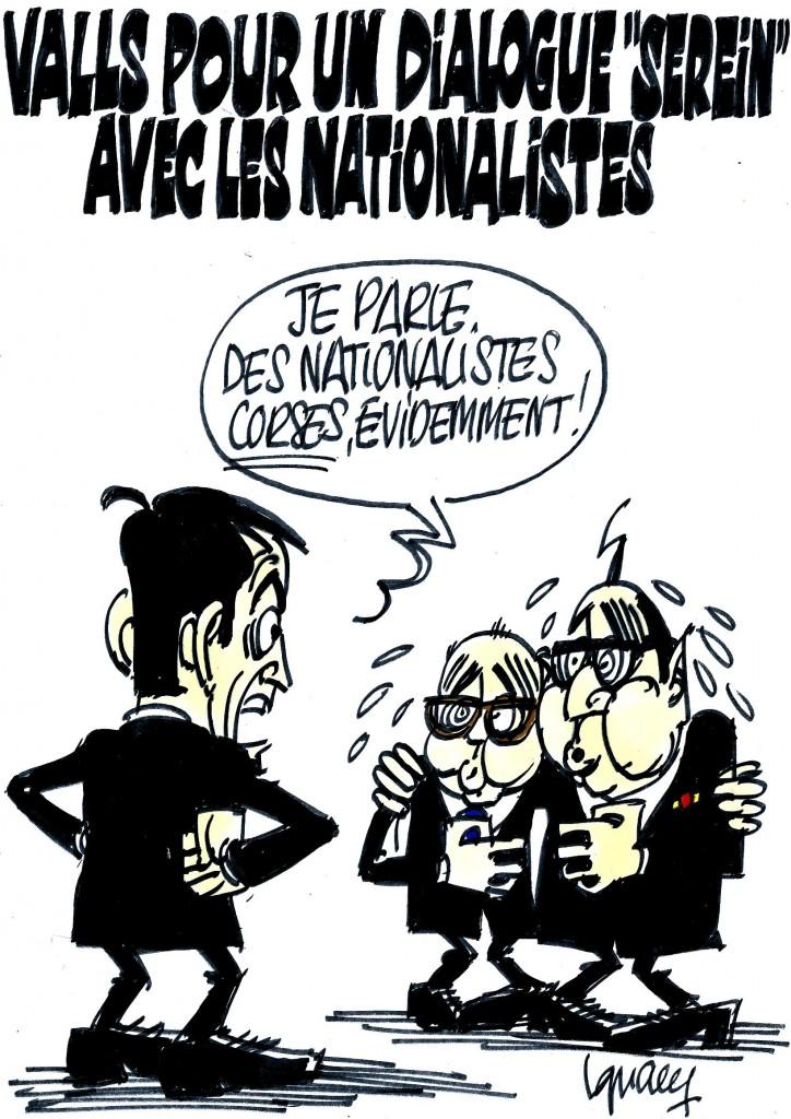 """Ignace - Valls pour un dialogue """"serein"""" avec les nationalistes"""