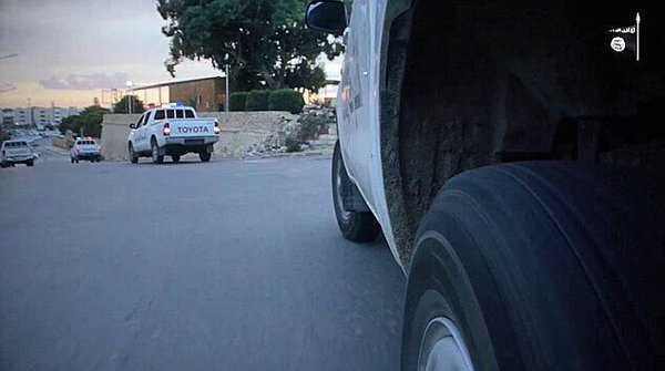 police islamique syrte 2