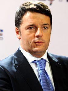 Matteo Renzi, président du Conseil italien