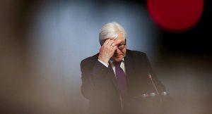 Le ministre allemand des Affaires étrangères Frank-Walter Steinmeier
