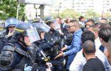 Violents heurts entre chauffeurs de taxis et CRS à Paris