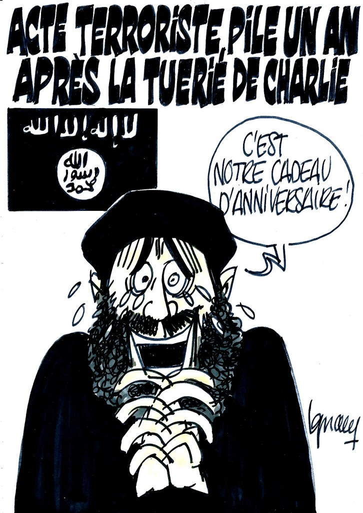 Ignace - Attentat un an après Charlie