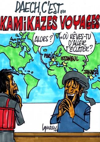Ignace - Daech voyage