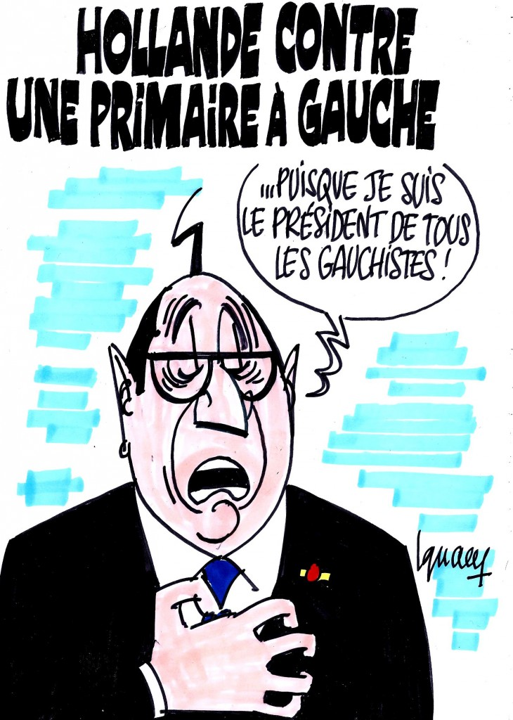 Ignace - Hollande opposé à une primaire à gauche