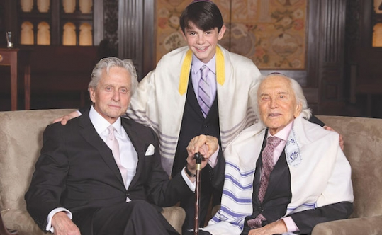 michael douglas-bar-mitzvah