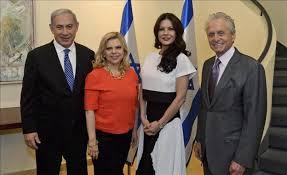 michael douglas netanyahu