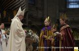 Les trois rois mages du Vatican : deux garçons et une fille, une version «gender»