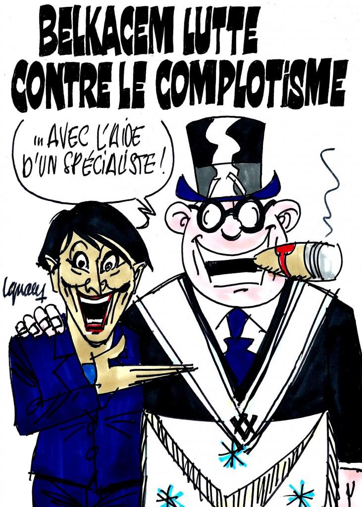 Ignace - Belkacem lutte contre le complotisme