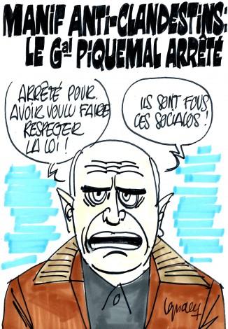 Ignace - Le général Piquemal arrêté