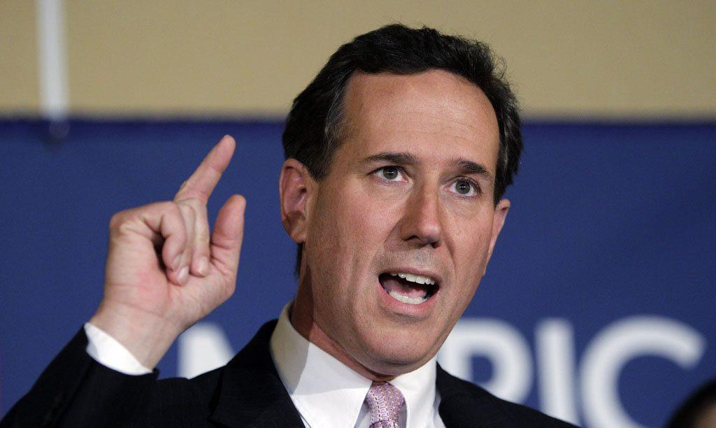 Rick Santorum, Républicain, hostile à l'avortement (ainsi qu'à la contraception)