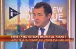 Jean-Frédéric Poisson dit son opposition à l'avortement, réclame l'abrogation du mariage homosexuel et la réouverture d'une représentation française à Damas