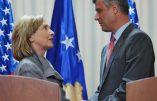 Le chef de la mafia albanaise kosovare, élu par les députés président du Kosovo, avec le soutien de l'Occident
