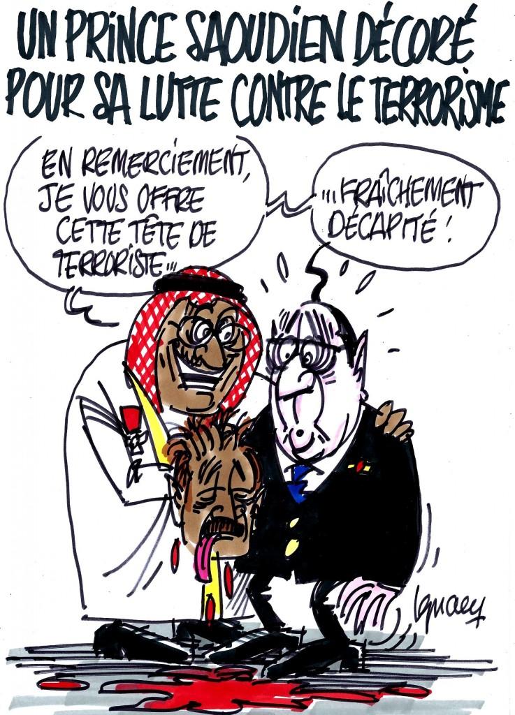 Ignace - Hollande, le prince saoudien et la Légion d'honneur