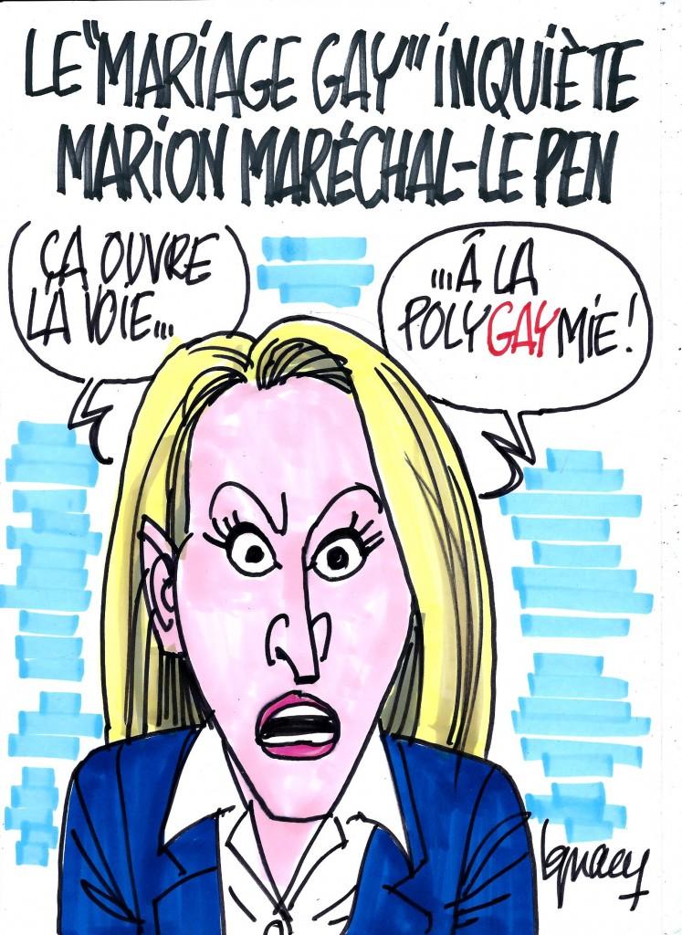 "Ignace - Marion Maréchal vs ""mariage gay"""
