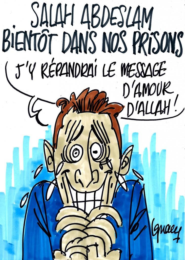 Ignace - Abdeslam bientôt dans nos prisons