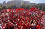 Manifestation pro-vie au Chili