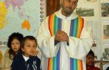 Le dernier scandale conciliaire : à l'église les apôtres sont un duo gay et des Roms sans papiers