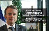 Emmanuel Macron, invité des Amis du CRIF