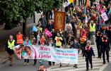 Appel de l'abbé Legrand à se joindre avec Civitas Belgique à la Marche pour la Famille à Anvers le 17 avril 2016
